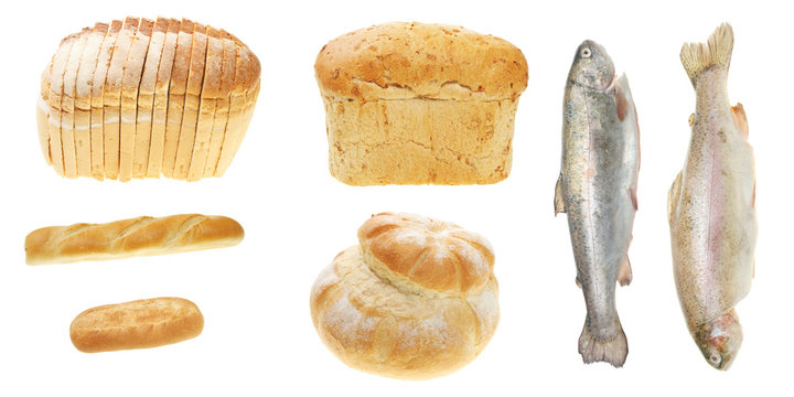 Five loaves and two fishes