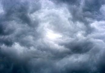 texture of dark storm clouds