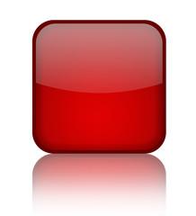 Stylish blank shiny button