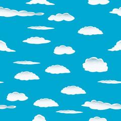 Keuken foto achterwand Hemel seamless clouds