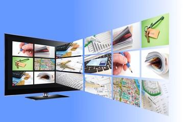 Interactive TV concept
