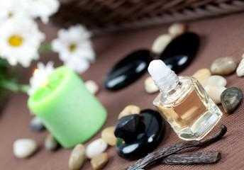 Aromatherapie mit Vanilleöl