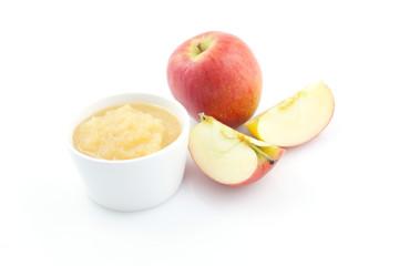 frischer Apfelmus
