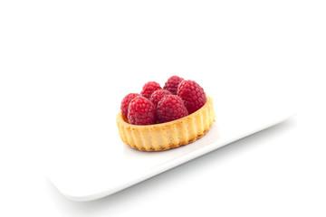 Tortelett auf Teller
