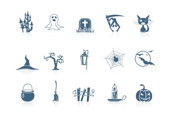 Halloween icons | piccolo series
