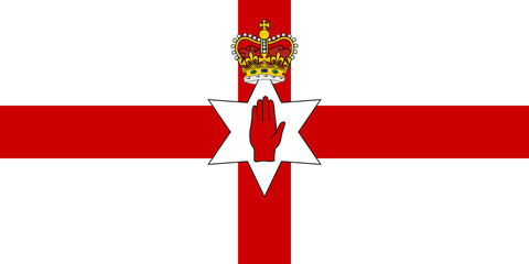 Wall Mural - Ulster flag