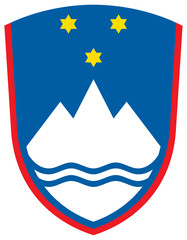 Wall Mural - Slovenia Coat of Arms