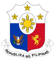 Wall Mural - Philippines Coat of Arms