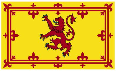 Wall Mural - Royal Scottish flag or Standard
