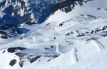 Piste, Les 2 Alpes, France