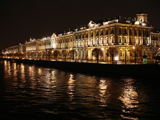 The Winter Palace. Palace Embankment