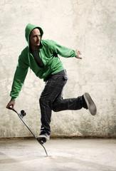 Skateboard skill