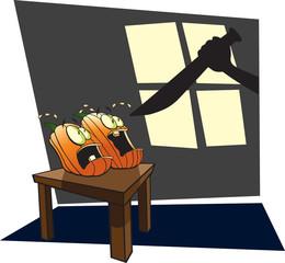 Scared Pumpkins 1