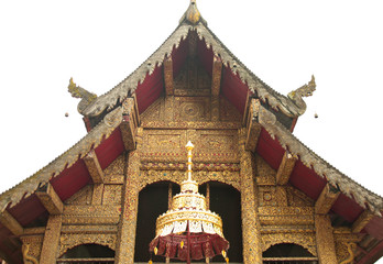 The Church of Wat Sompao, Chiang Mai, Thailand
