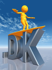 DK Top Level Domain of Denmark
