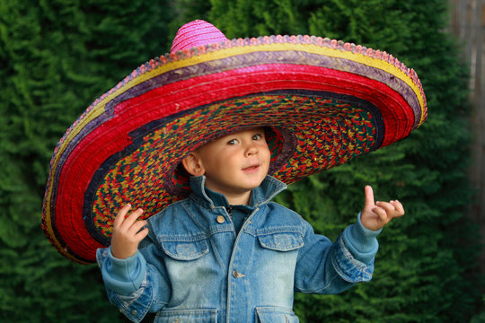 Little Boy with a Sombrero