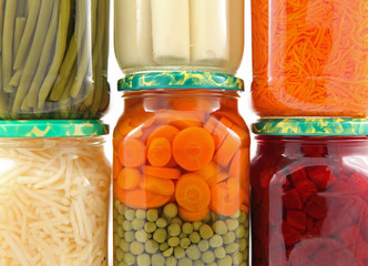 Conserves de légumes en bocal #1