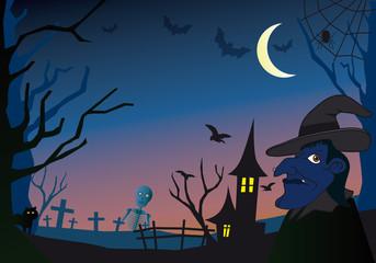 Fond Halloween_1_Bleu