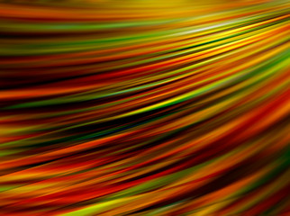 Abstract colorful blurry rays.