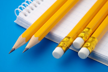 Notepad and few pencils