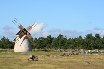 Mühle auf Gotland