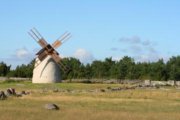 Windmühle auf Fårö Schweden
