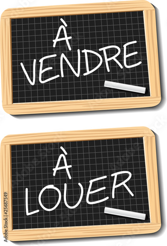 ardoise vendre et louer fichier vectoriel libre de droits sur la banque d 39 images fotolia. Black Bedroom Furniture Sets. Home Design Ideas