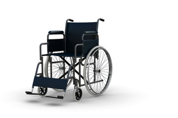 Wheelchair (isolated)