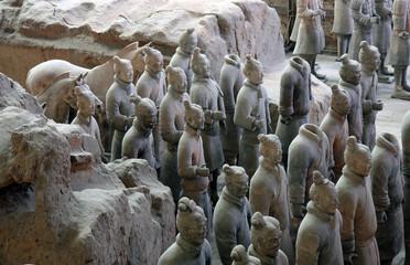 Tuinposter Xian China - Xiang - Terrakottaarmee