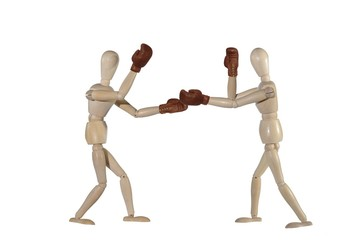 sparing boxing - of dummies