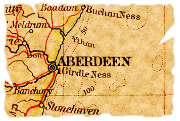 Aberdeen old map