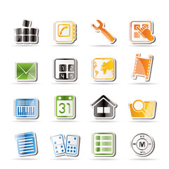 Simple Mobile Phone and Computer icons