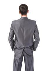 Image businessman behind