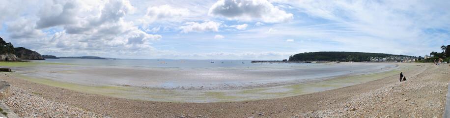 Plage bretonne - Panorama