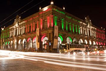 Arquitectura Mexicana Nocturna