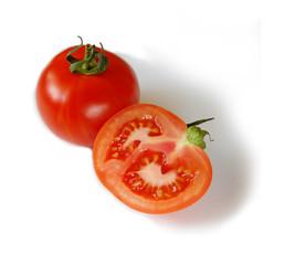 Ein und eine halbe Tomate