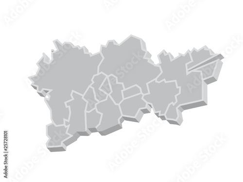 Karte Ruhrgebiet.3d Ruhrgebiet Karte Stockfotos Und Lizenzfreie Vektoren Auf