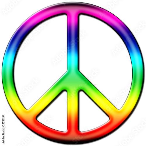 Peace and love color photo libre de droits sur la banque d 39 images image 25739191 - Dessin peace and love ...
