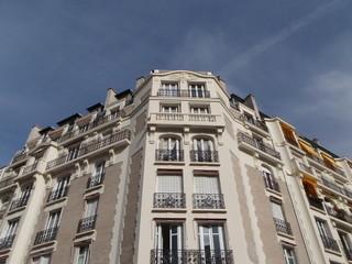 Paris16-Facade-d'immeuble
