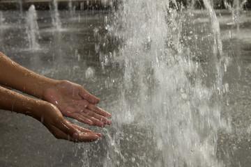 fontaine d'été