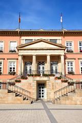 Rathaus in Detmold, Deutschland