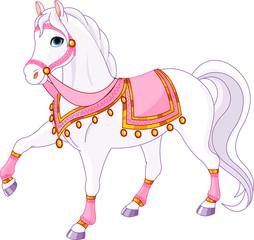 In de dag Pony Royal Horse