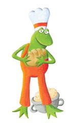 Baker frog