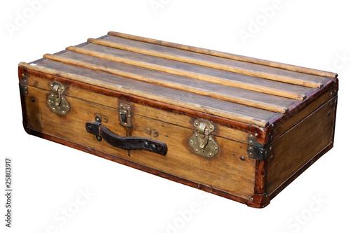 valise en bois photo libre de droits sur la banque d 39 images image 25803917. Black Bedroom Furniture Sets. Home Design Ideas