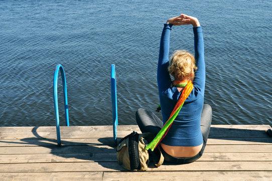 Leisure, yoga, relax
