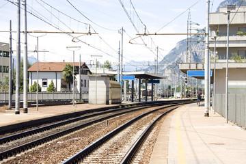 little mountain rail station