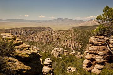 Stone Hoodoos at Arizona's Chiricahua National Monument