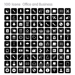 100 Icons - Office and Business Set