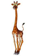 giraffe cartoon pose