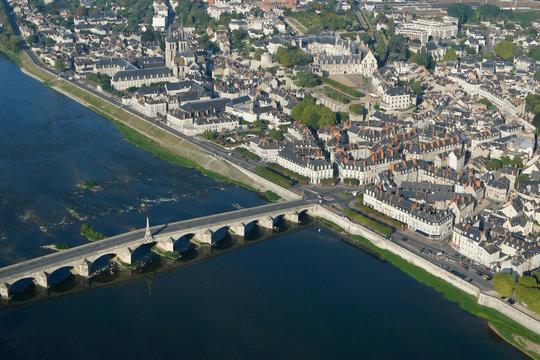 Blois, le pont sur la loire de Jacques Gabriel